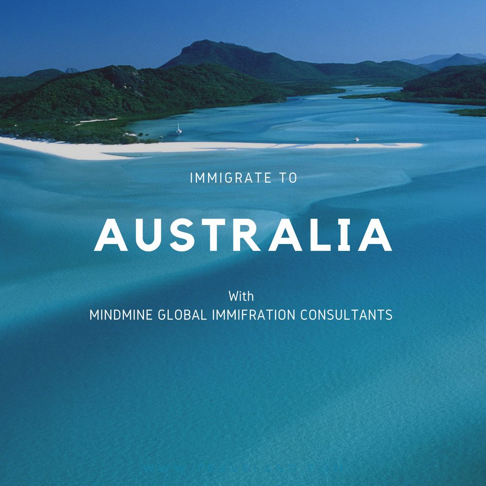 IMMIGRATE TO AUSTRALIA WITH MINDMINE GLOBAL IMMIFRATION CONSULTANTS