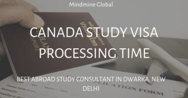 Canada Study Visa Processing Time