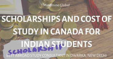 Scholarships and Cost of Study in Canada for Indian Students