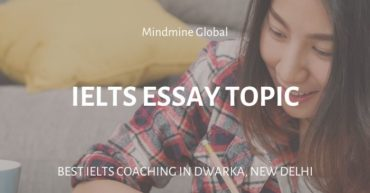 IELTS essay topic